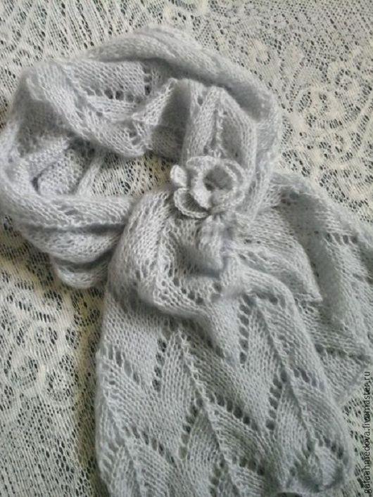 ажурный шарфик,шарф,красивый шарф,женский,купить шарф.в подарок,шарфик ажурный,вязаный шарф,шарф ручной работы, аксессуары,женский шарф,вязаный шарфик,подарок женщине,девушке,нежный