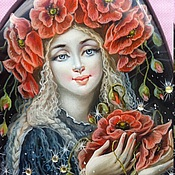 Украшения handmade. Livemaster - original item Poppy flowers. Handmade.