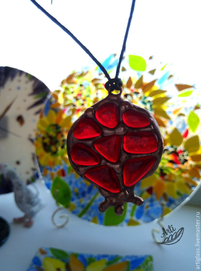 pendant Pomegranate, Pendants, Samara,  Фото №1