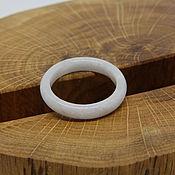 Украшения handmade. Livemaster - original item 19.5 R. Light Jade Ring (22). Handmade.