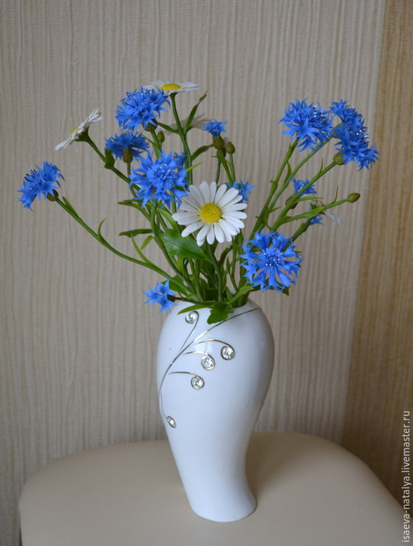 Delicate summer bouquet handmade. The Author - Natalia Isaeva