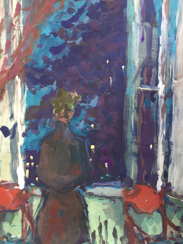Картина гуашью «Ностальгия», Картины, Рязань,  Фото №1