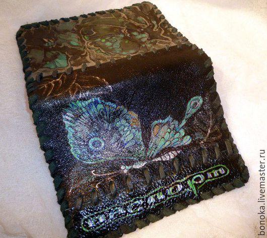 """Обложки ручной работы. Ярмарка Мастеров - ручная работа. Купить Обложка для паспорта """"Сны про бабочек"""". Handmade. Комбинированный"""