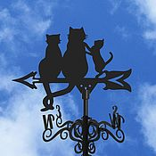 Дача и сад handmade. Livemaster - original item Weather vane on the roof
