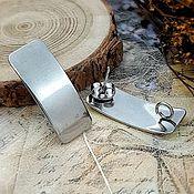 Материалы для творчества handmade. Livemaster - original item Shvenzy pussets 26.5x10. 4055.  mm steel (). Handmade.