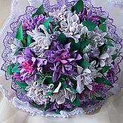 Свадебные букеты ручной работы. Ярмарка Мастеров - ручная работа Букет-дублер невесты. Handmade.