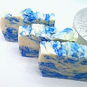 Косметика ручной работы handmade. Livemaster - original item Natural Mint soap, Fir and Lemon. Handmade.