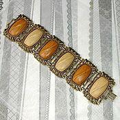 -10% Браслет-манжет цвет античного золота (Coro, США)