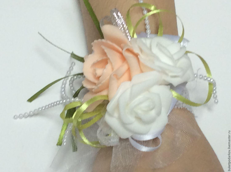 Бутоньерки для подружек невесты своими руками мастер класс 16