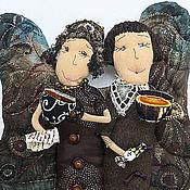 Куклы и игрушки ручной работы. Ярмарка Мастеров - ручная работа кофейные подружайки. Handmade.