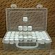 Органайзеры для рукоделия ручной работы. Чемодан с флаконами 5 мл.. box-medic. Ярмарка Мастеров. Коробка, коробка для бисера