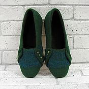 Обувь ручной работы. Ярмарка Мастеров - ручная работа Тапки мужские валяные. Handmade.