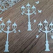 Материалы для творчества handmade. Livemaster - original item !Cutting scrapbooking Lanterns and moths. Handmade.