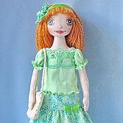 Куклы и игрушки ручной работы. Ярмарка Мастеров - ручная работа текстильная кукла Майя. Handmade.