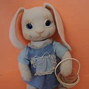 Куклы и игрушки ручной работы. Ярмарка Мастеров - ручная работа Зайка моя. Handmade.