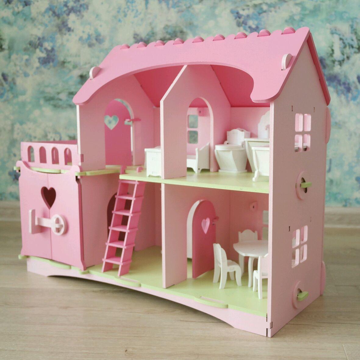 """Кукольный домик  """"Анютка"""" с мебелью, Кукольные домики, Ярославль,  Фото №1"""