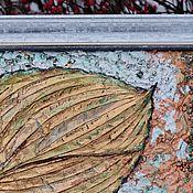 """Картины и панно ручной работы. Ярмарка Мастеров - ручная работа Картина-панно """"В единстве с природой"""". Handmade."""