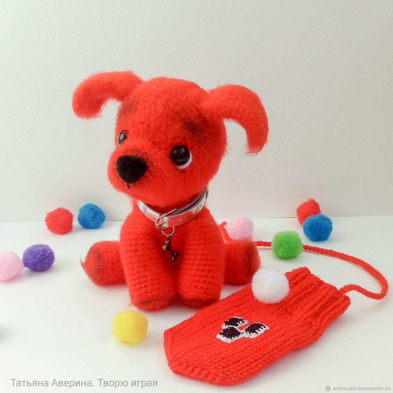 Dog Mittens, Amigurumi dolls and toys, Novosibirsk,  Фото №1