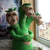 Куклы и игрушки ручной работы. Ярмарка Мастеров - ручная работа Змей Горыныч. Handmade.