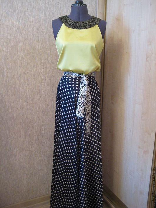 Платья ручной работы. Ярмарка Мастеров - ручная работа. Купить Длинное платье на заказ. Handmade. Платье на заказ, индивидуальный пошив