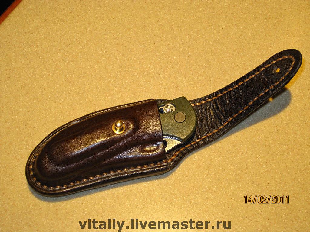 Складное креКобура для ножа своими руками