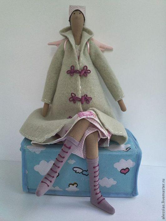 Куклы Тильды ручной работы. Ярмарка Мастеров - ручная работа. Купить Осенний Ангел - Оригинальная текстильная кукла Тильда. Handmade.
