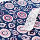 Хлопок 100%. Ткань для шитья, тильд, игрушек, квилтинга, пэчворка, скрапбукинга. Мягкий хлопок. Ткань для творчества. Ивановские ткани. Ситец. Бязь. Купить ткань. Хлопок, растительный мотив, круги