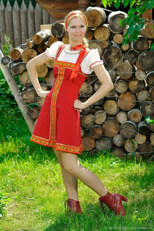 Арт. 1211, Народные костюмы, Москва,  Фото №1