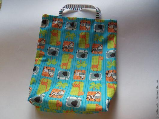 """Детская ручной работы. Ярмарка Мастеров - ручная работа. Купить Интерьерная детская сумочка """"Зебра"""".. Handmade. Синий, игрушки, интерьер"""