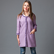 Одежда handmade. Livemaster - original item Coat-jacket