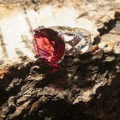 Украшения ручной работы. Ярмарка Мастеров - ручная работа кольцо 16.7 Турмалин. Handmade.
