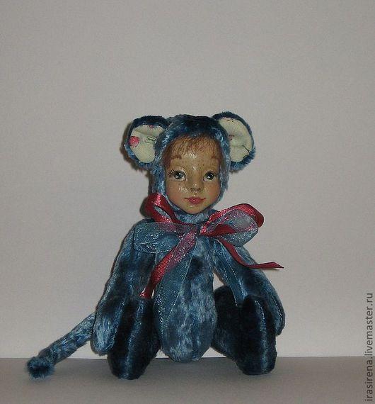 Мишки Тедди ручной работы. Ярмарка Мастеров - ручная работа. Купить Кукло-мышка Изюминка.. Handmade. Мышка, мышка кукла