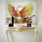 Картины ручной работы. Ярмарка Мастеров - ручная работа Феникс птица счастья. Handmade.