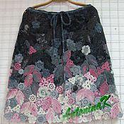 Одежда ручной работы. Ярмарка Мастеров - ручная работа Юбка из цветочных мотивов. Handmade.