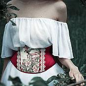 """Одежда ручной работы. Ярмарка Мастеров - ручная работа Корсет """"Mallow fairy"""". Handmade."""