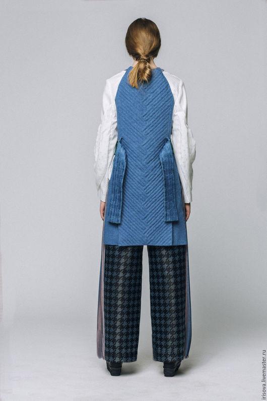 """Верхняя одежда ручной работы. Ярмарка Мастеров - ручная работа. Купить Жилет """"Равновесие"""". Handmade. Бохо стиль, дизайнерская одежда"""