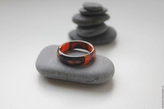 Минералы, друза ручной работы. Ярмарка Мастеров - ручная работа. Купить Кольцо из сардоникса (KOS0069). Handmade. Комбинированный, кольцо в подарок