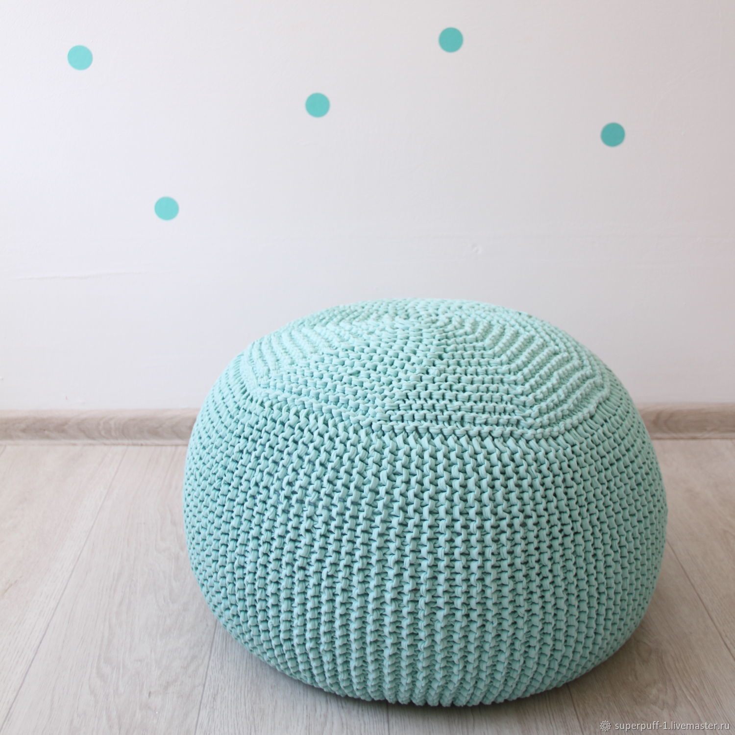 Knitted pouf Superpuff, Ottomans, Moscow,  Фото №1