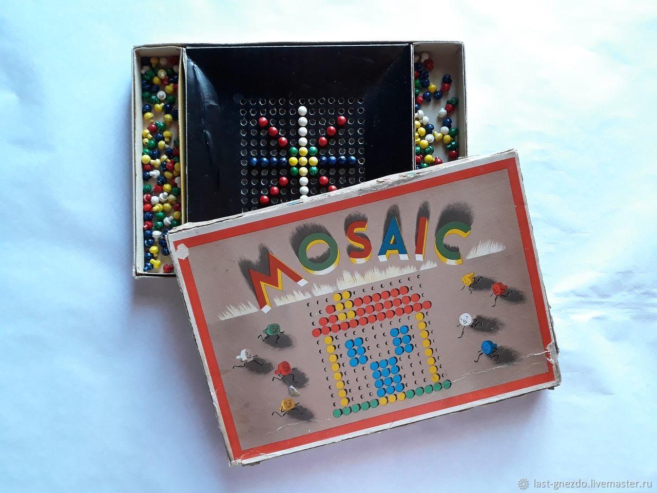 Настольная игра Mosaic - Мозайка , 1972 год, ГДР.