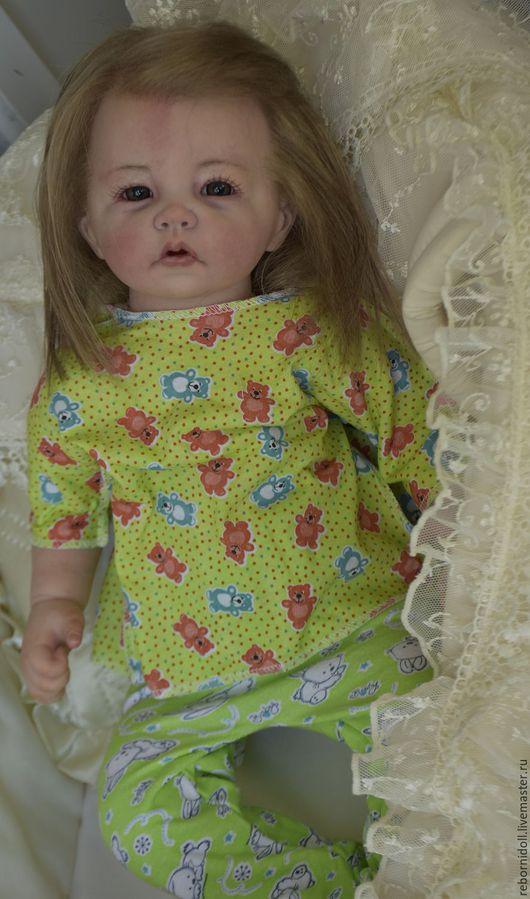 Куклы-младенцы и reborn ручной работы. Ярмарка Мастеров - ручная работа. Купить Малышка кукла реборн Белла. Handmade.