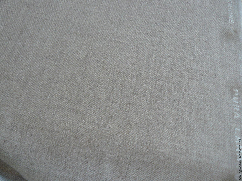 italian wool 100 lana vergine beige sewing mosaic olga my - Lana Fabric