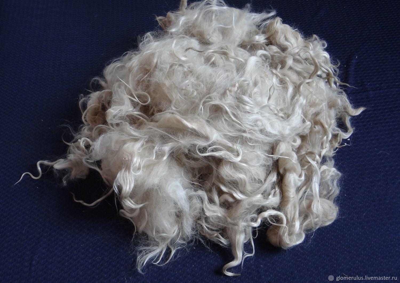 Уценка! Козий пух,козья шерсть для прядения и валяния №2, Волокна, Волгоград,  Фото №1