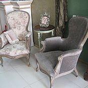 Для дома и интерьера ручной работы. Ярмарка Мастеров - ручная работа Два кресла 19 век. Handmade.