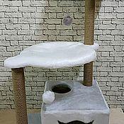 Когтеточки ручной работы. Ярмарка Мастеров - ручная работа Игровой Комплекс Орхидея. Handmade.