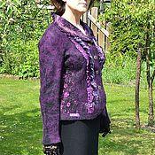 Одежда ручной работы. Ярмарка Мастеров - ручная работа Жакет валенный. Handmade.