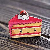 Украшения handmade. Livemaster - original item Wooden icon Sweets. Handmade.