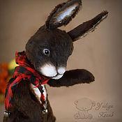 Куклы и игрушки ручной работы. Ярмарка Мастеров - ручная работа Мой старый примитивный кролик. Handmade.