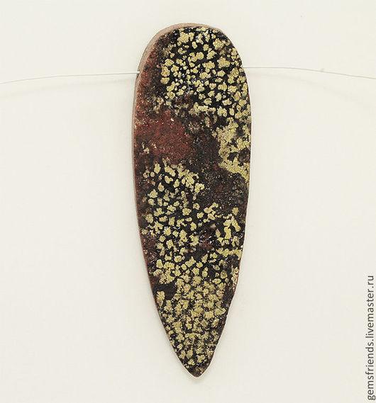 Кулоны, подвески ручной работы. Ярмарка Мастеров - ручная работа. Купить Ризокарпон Географический, природный рисунок на камне, Подвеска 61 мм. Handmade.