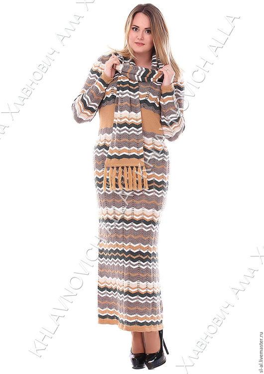 """Платья ручной работы. Ярмарка Мастеров - ручная работа. Купить Платье """"Звучание"""" Модель №613. Handmade. Комбинированный, модная одежда"""