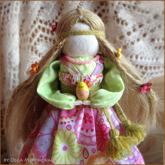 Народные куклы ручной работы. Ярмарка Мастеров - ручная работа. Купить Радуница. Handmade. Разноцветный, русская кукла, обряд